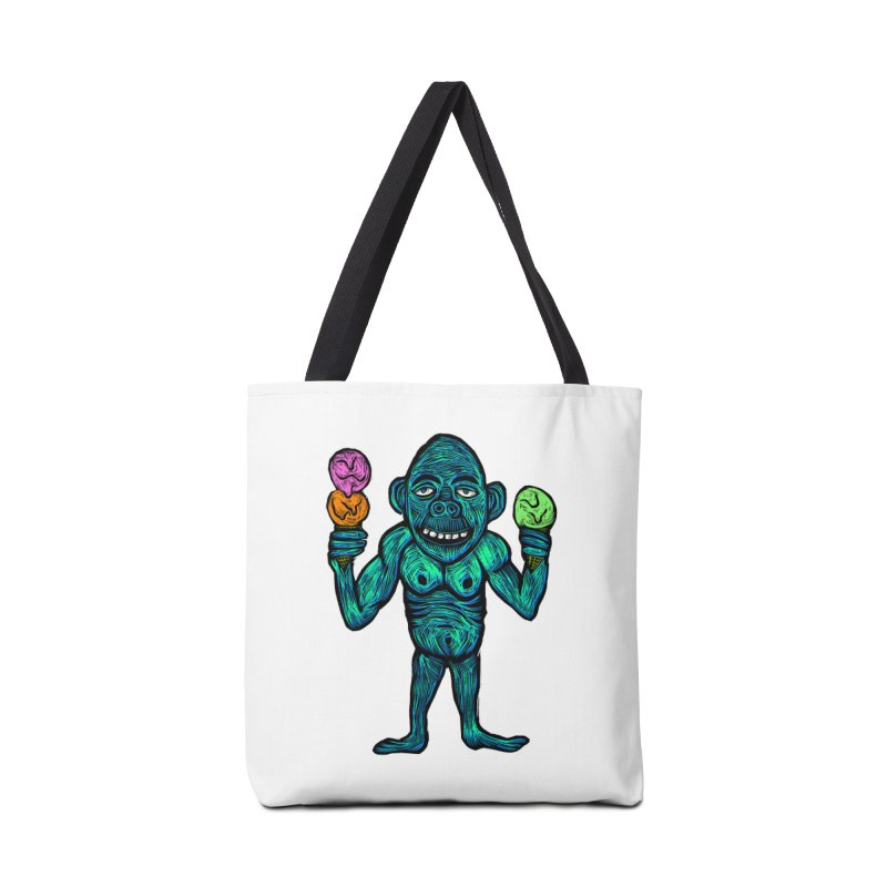 Ice Cream Chimp Accessories Bag by Sean StarWars' Artist Shop
