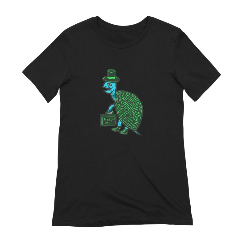Follow Me Women's Extra Soft T-Shirt by Sean StarWars' Artist Shop