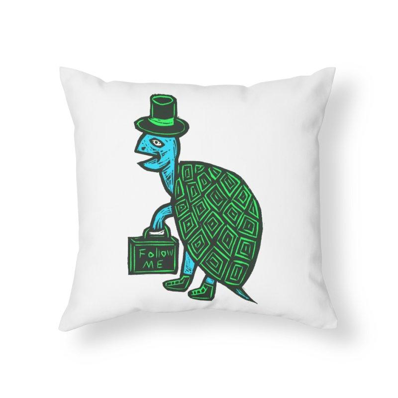 Follow Me Home Throw Pillow by Sean StarWars' Artist Shop