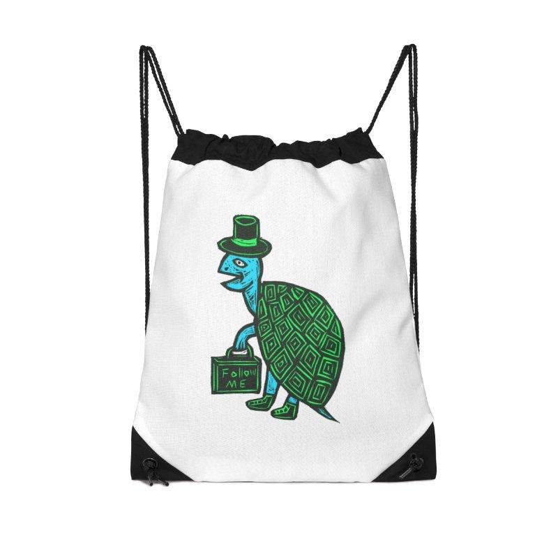 Follow Me Accessories Drawstring Bag Bag by Sean StarWars' Artist Shop