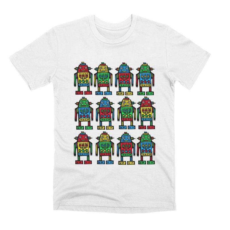 Shina Robots Men's Premium T-Shirt by Sean StarWars' Artist Shop