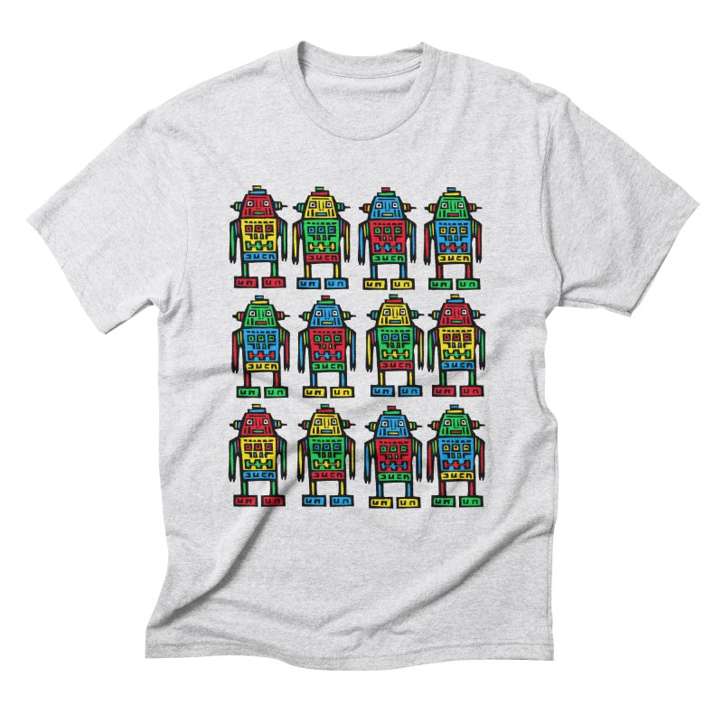 Shina Robots Men's T-Shirt by Sean StarWars' Artist Shop