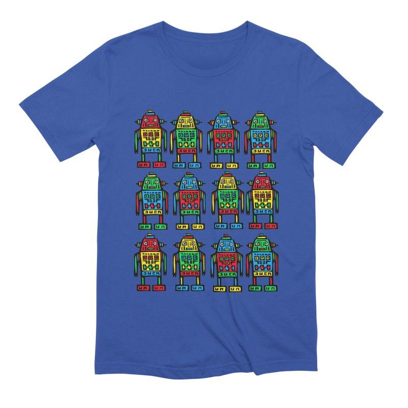 Shina Robots Men's Extra Soft T-Shirt by Sean StarWars' Artist Shop