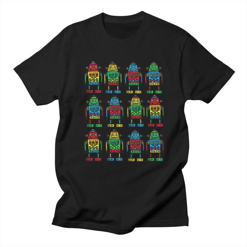 Shina Robots Men's Regular T-Shirt by Sean StarWars' Artist Shop