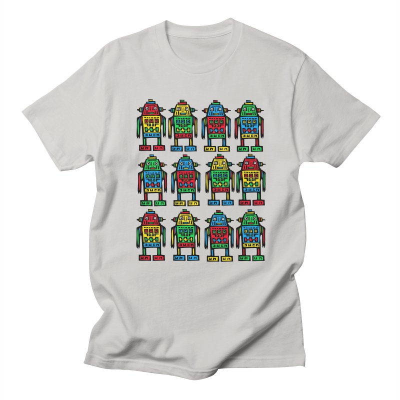 Shina Robots Women's Regular Unisex T-Shirt by Sean StarWars' Artist Shop
