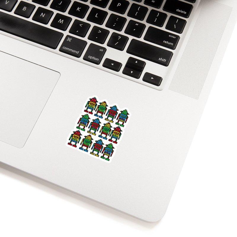 Shina Robots Accessories Sticker by Sean StarWars' Artist Shop