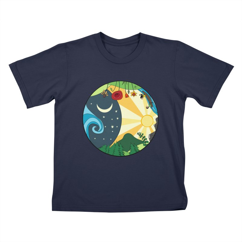 Woodfield Community Mural Kids T-Shirt by The Woodfield Shop