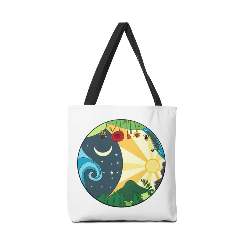Woodfield Community Mural Accessories Tote Bag Bag by The Woodfield Shop