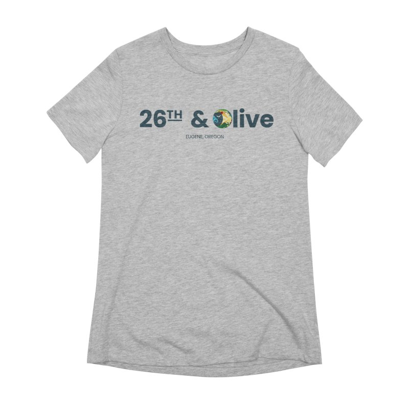 26th & Olive Women's Extra Soft T-Shirt by The Woodfield Shop