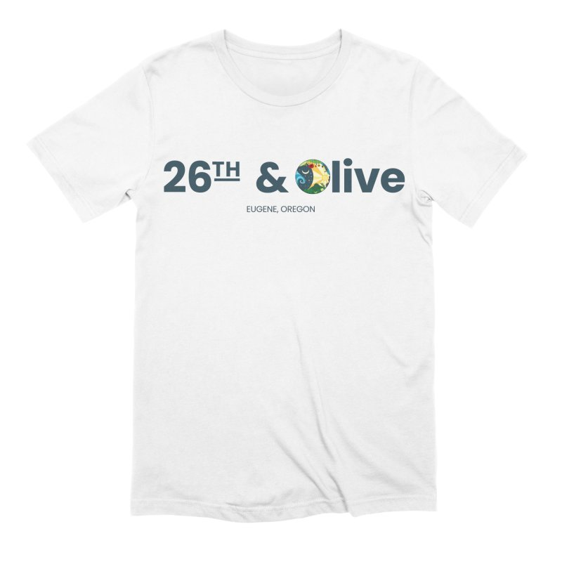 26th & Olive Men's Extra Soft T-Shirt by The Woodfield Shop