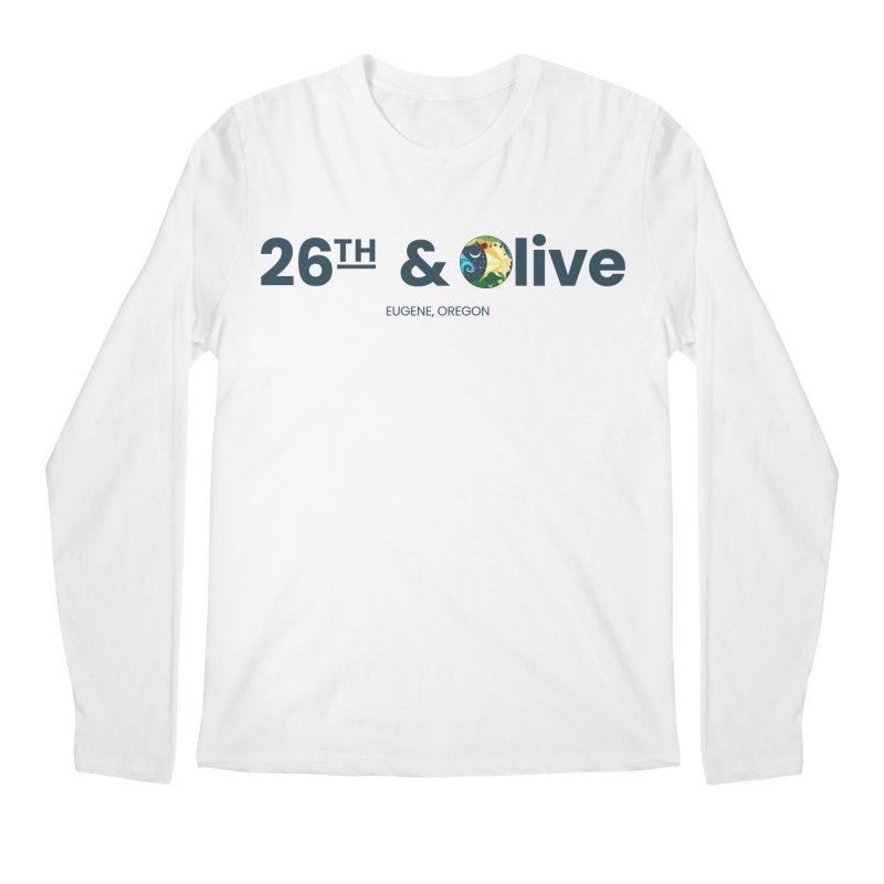 26th & Olive Men's Regular Longsleeve T-Shirt by The Woodfield Shop
