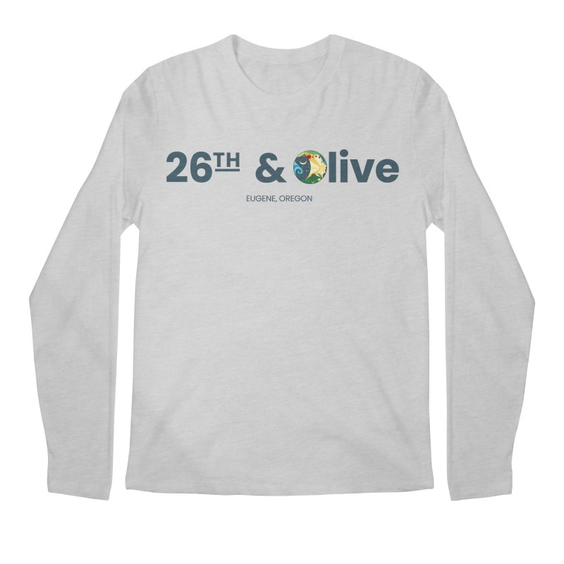 26th & Olive Men's Longsleeve T-Shirt by The Woodfield Shop