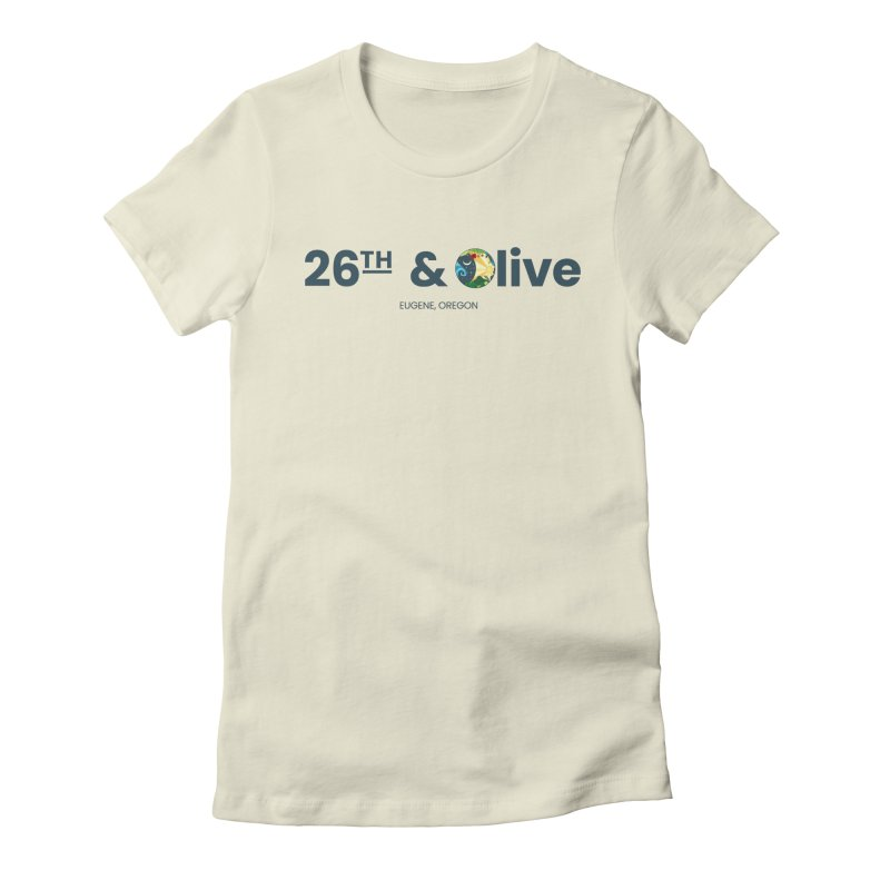 26th & Olive Women's T-Shirt by The Woodfield Shop