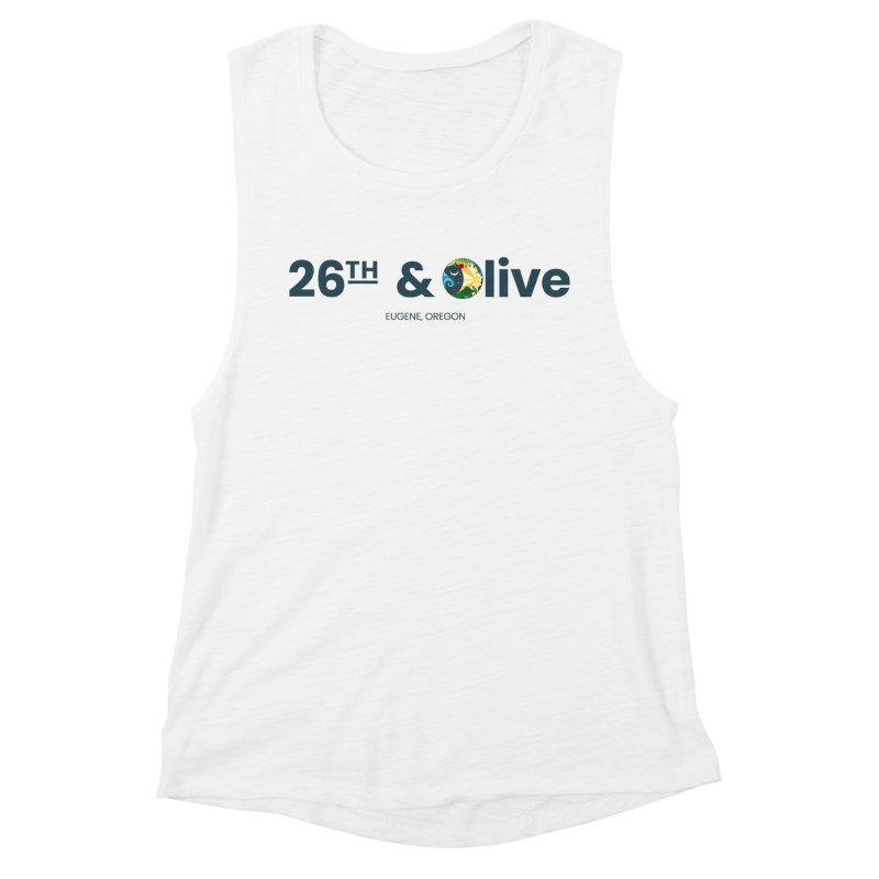 26th & Olive Women's Tank by The Woodfield Shop