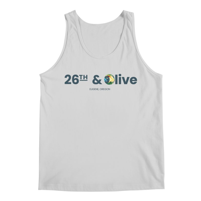 26th & Olive Men's Regular Tank by The Woodfield Shop