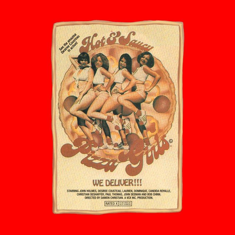 Hot & Saucy Pizza Girls by WoodRocket Shop
