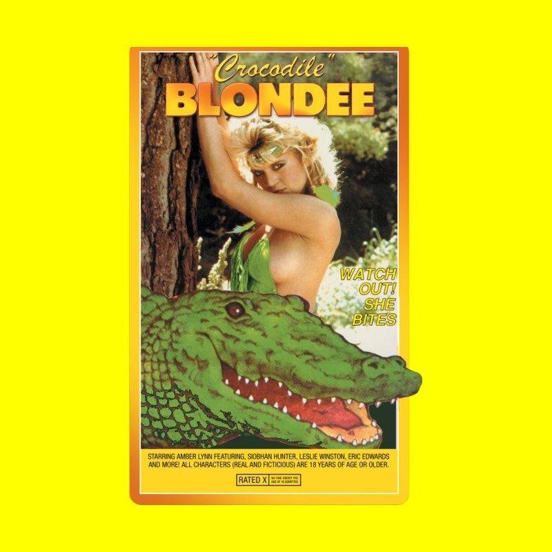 Crocodile Blondee by WoodRocket Shop