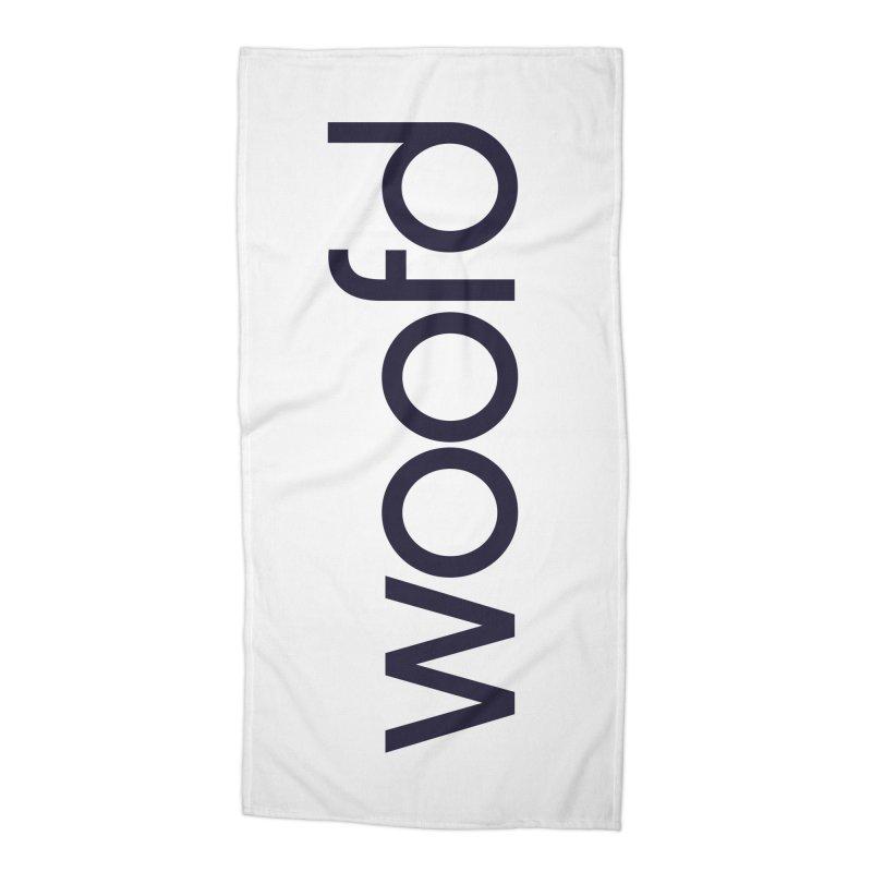 Woofd Beach Towel Accessories Beach Towel by woofd's Artist Shop