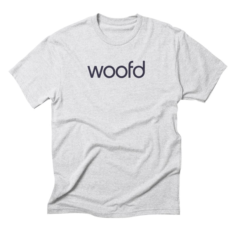 "White ""Woofd"" Shirts Men's Triblend T-Shirt by woofd's Artist Shop"