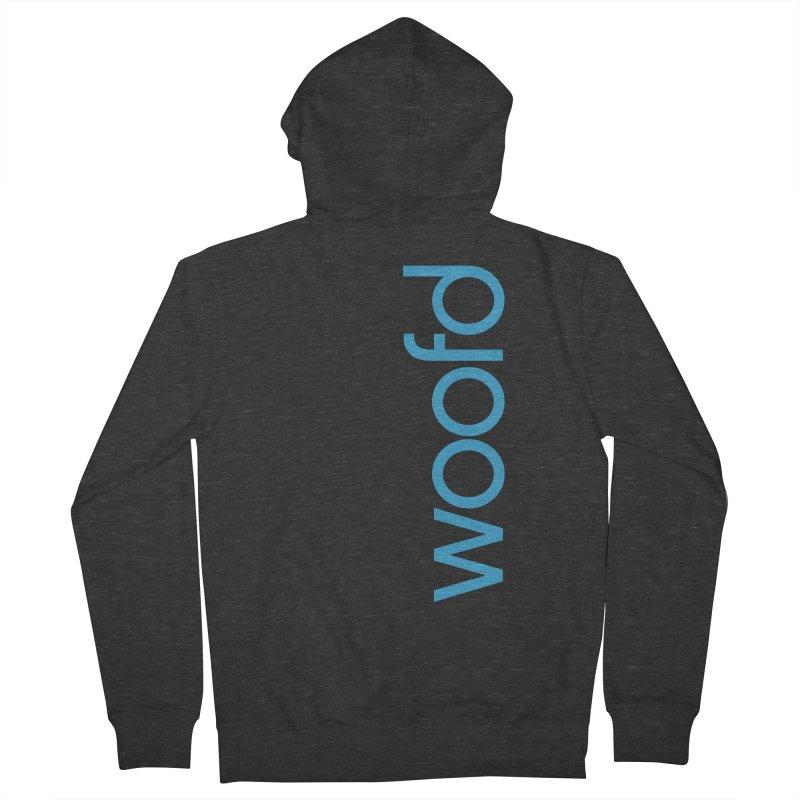 Woofd Zip Hoodie Men's French Terry Zip-Up Hoody by woofd's Artist Shop