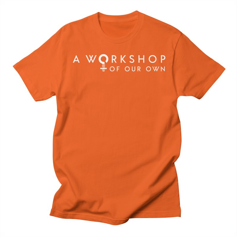 WOO Logo Apparel Men's T-Shirt by A Workshop of Our Own Merch