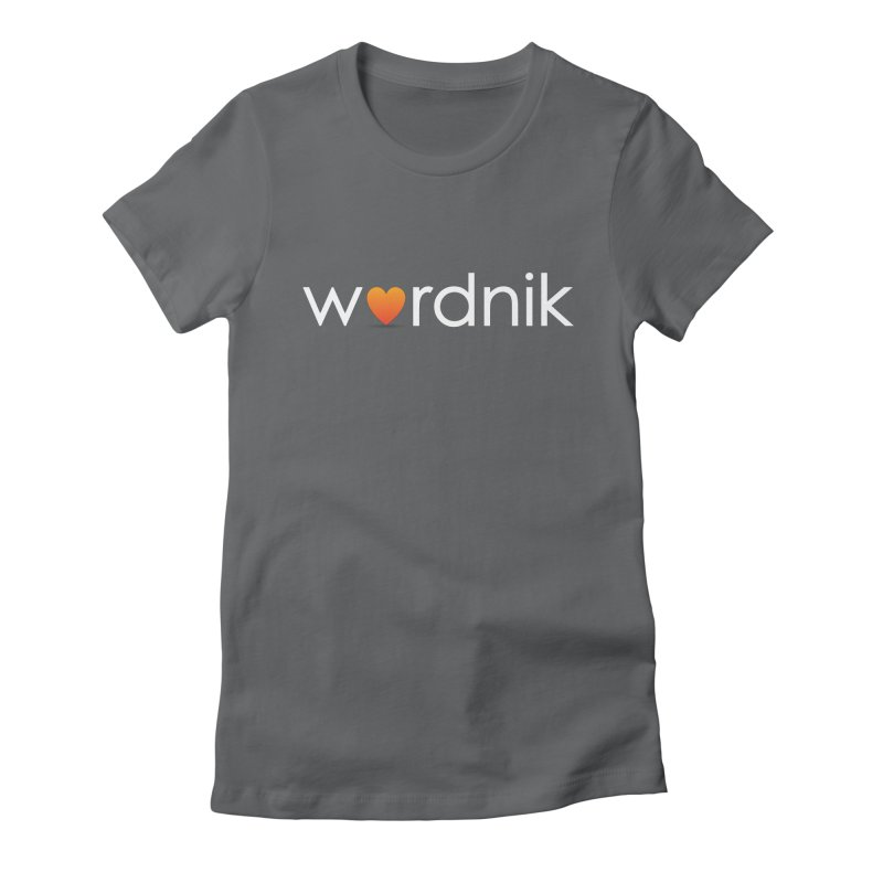 Wordnik Fan Shirt Women's Fitted T-Shirt by wordnik's Artist Shop