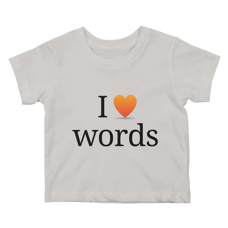 "The Wordnik ""I (heart) Words"" shirt Kids Baby T-Shirt by wordnik's Artist Shop"