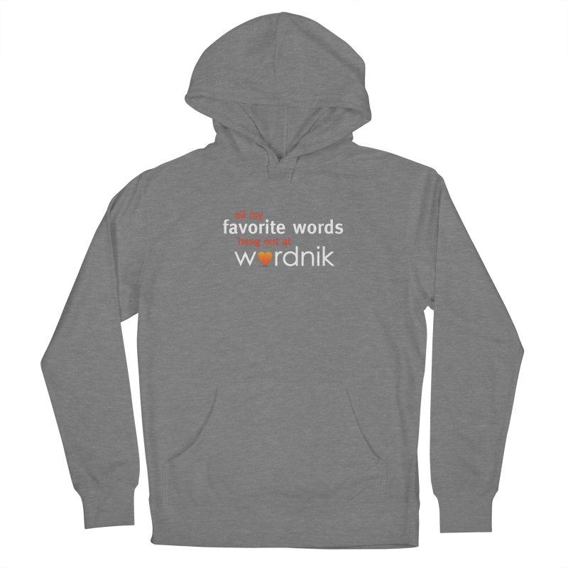All My Favorite Words Wordnik Shirt Men's Pullover Hoody by wordnik's Artist Shop