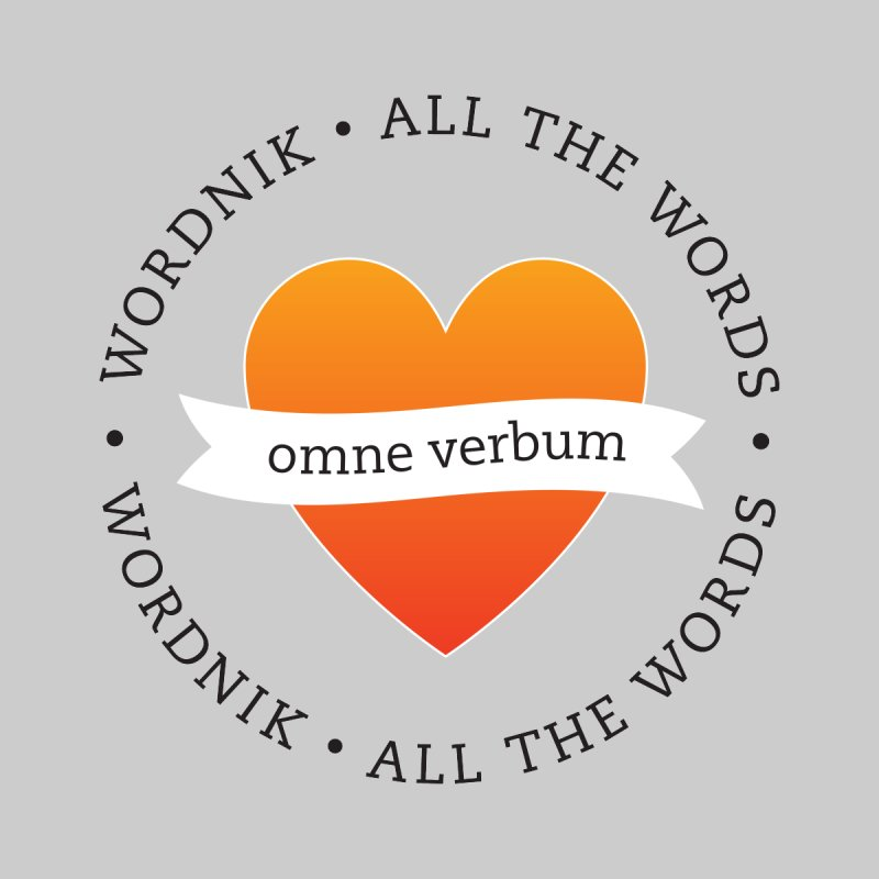 Omne Verbum—All The Words! Women's Scoop Neck by wordnik's Artist Shop