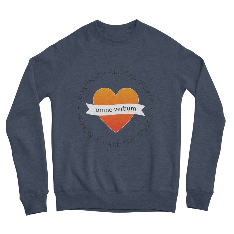 Omne Verbum—All The Words! Men's Sponge Fleece Sweatshirt by wordnik's Artist Shop