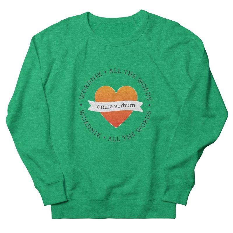 Omne Verbum—All The Words! Women's Sweatshirt by wordnik's Artist Shop