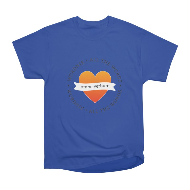 Omne Verbum—All The Words! Men's Heavyweight T-Shirt by wordnik's Artist Shop
