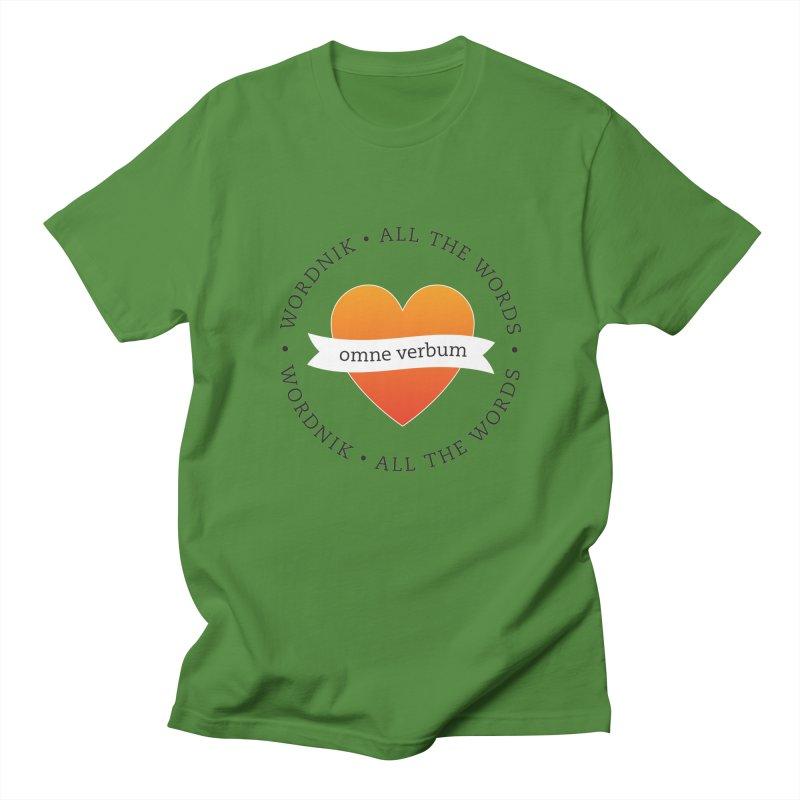 Omne Verbum—All The Words! Men's T-Shirt by wordnik's Artist Shop