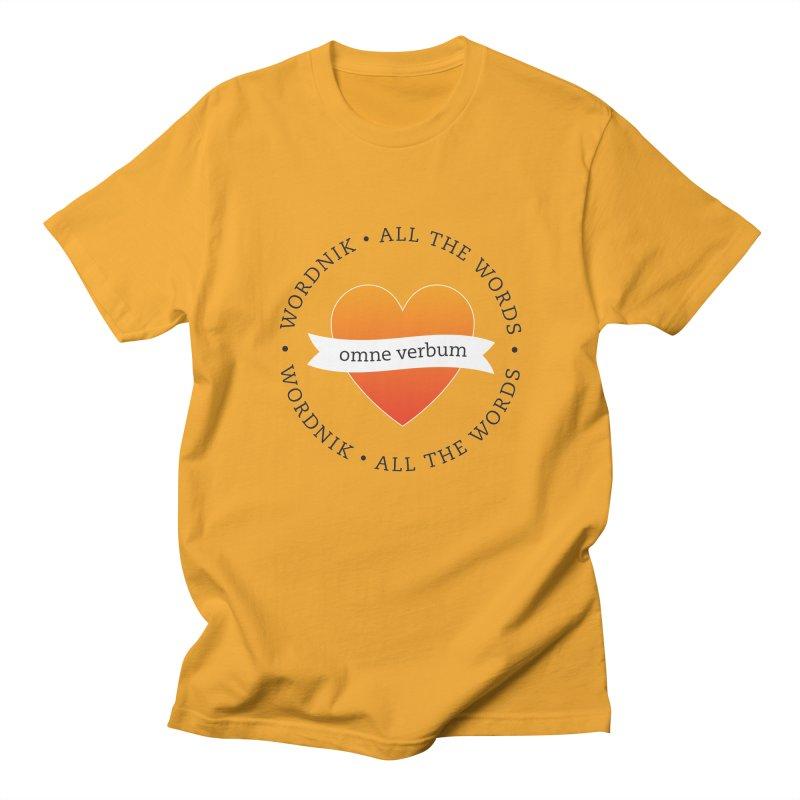 Omne Verbum—All The Words! Women's Regular Unisex T-Shirt by wordnik's Artist Shop