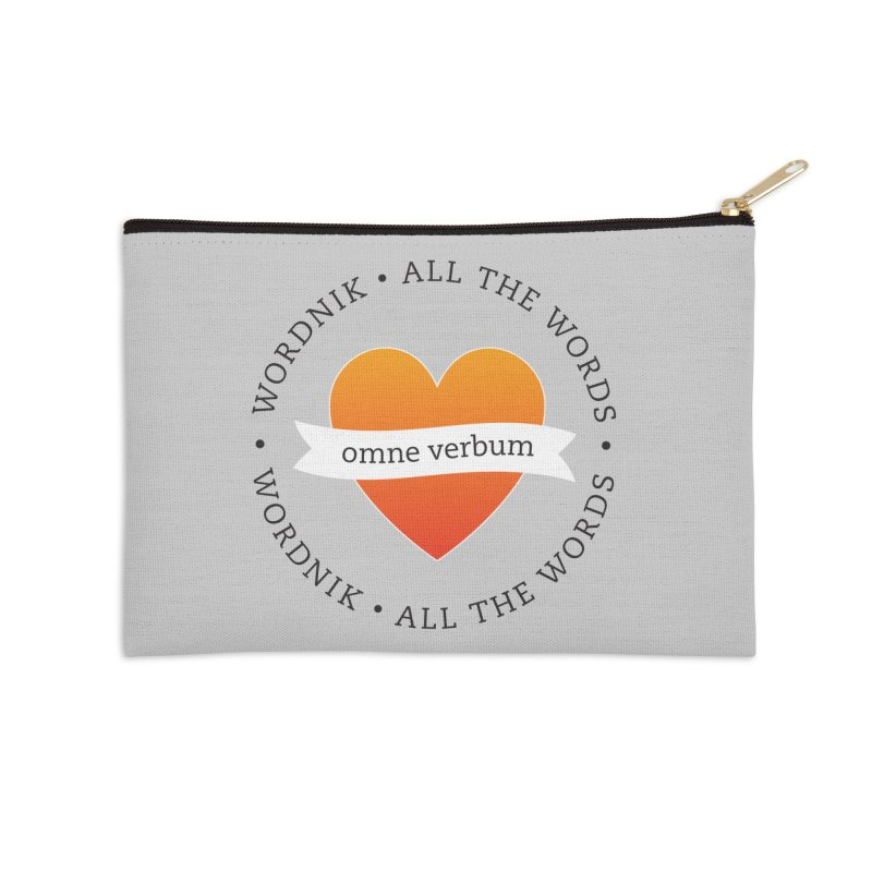 Omne Verbum—All The Words! Accessories Zip Pouch by wordnik's Artist Shop