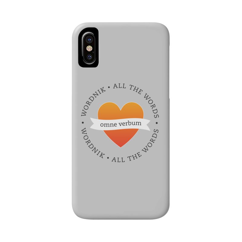 Omne Verbum—All The Words! Accessories Phone Case by wordnik's Artist Shop