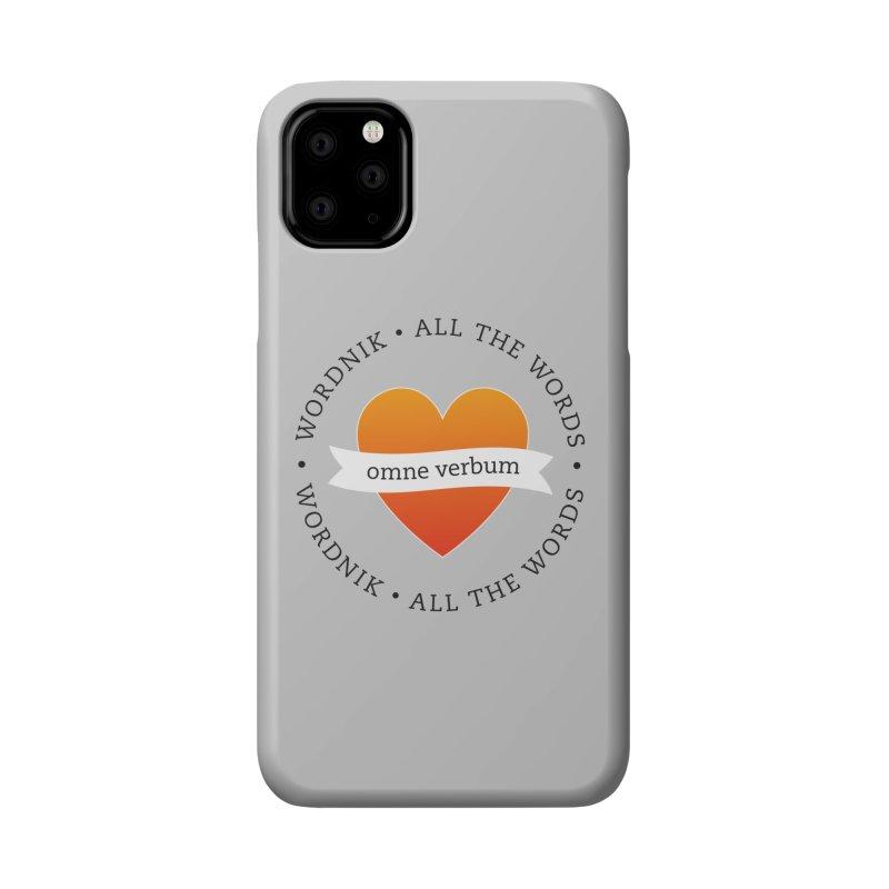 Omne Verbum—All The Words! Accessories Phone Case by wordnik's Artist Shop