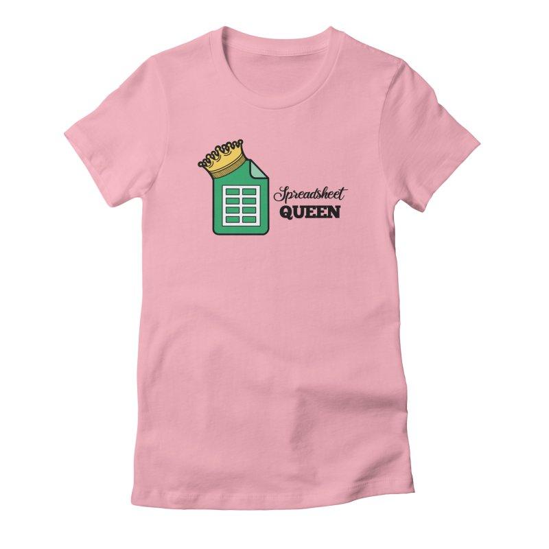 Spreadsheet Queen Women's T-Shirt by Work Chronicles