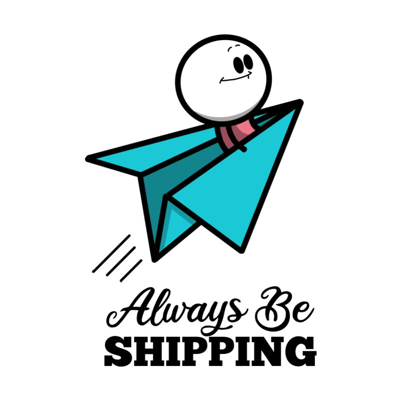 Always Be Shipping Accessories Sticker by Work Chronicles