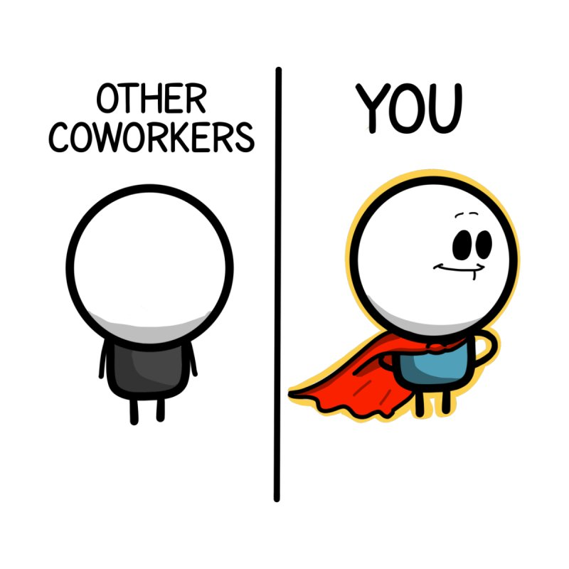 Other Coworkers vs You Women's Scoop Neck by Work Chronicles