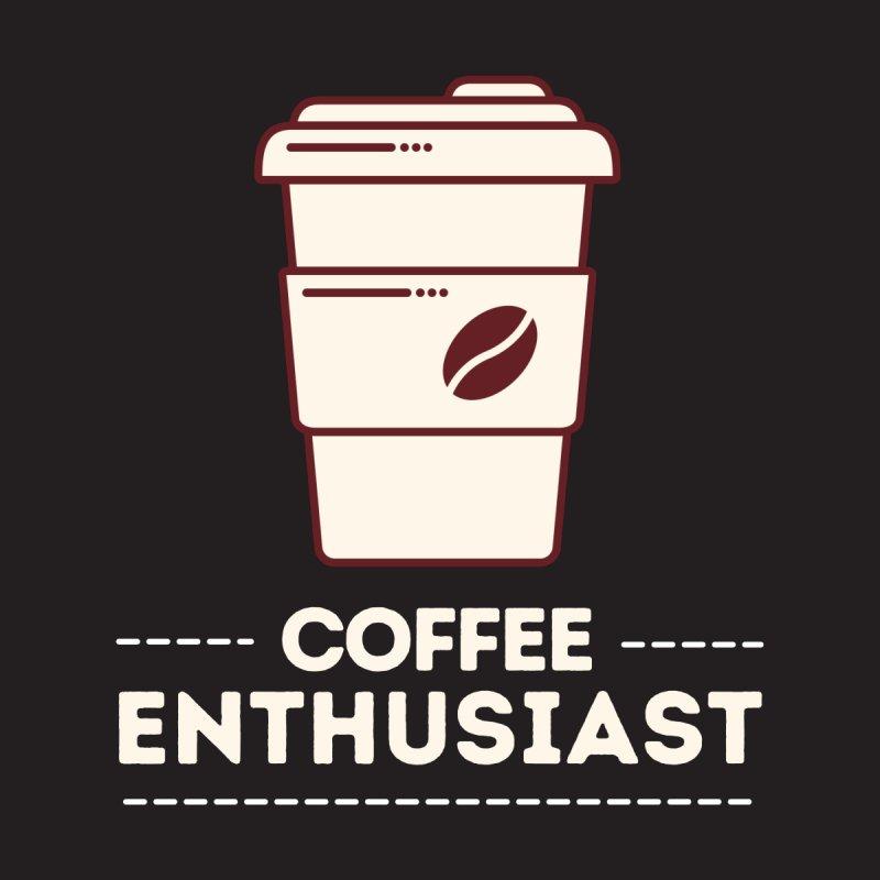 Coffee Enthusiast Men's Sweatshirt by Work Chronicles