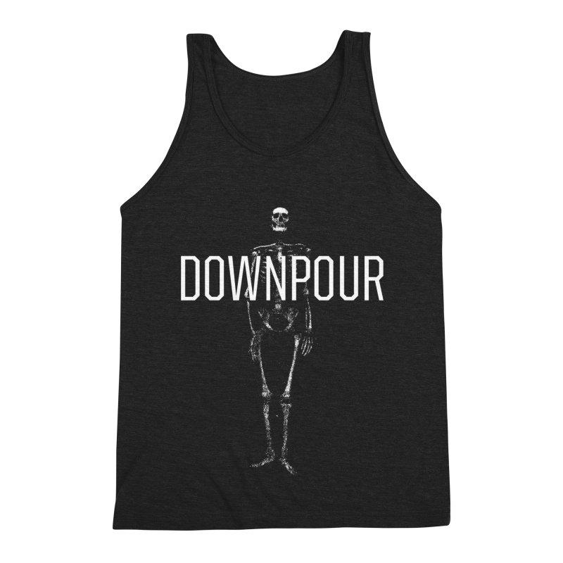 Downpour Bones Men's Triblend Tank by DOWNPOUR