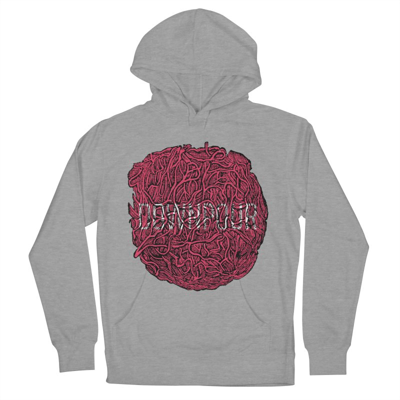 Innards Men's French Terry Pullover Hoody by DOWNPOUR