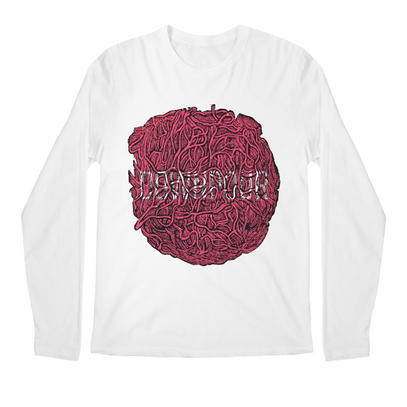 Innards Men's Regular Longsleeve T-Shirt by DOWNPOUR