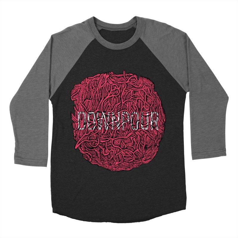 Innards Men's Baseball Triblend Longsleeve T-Shirt by DOWNPOUR