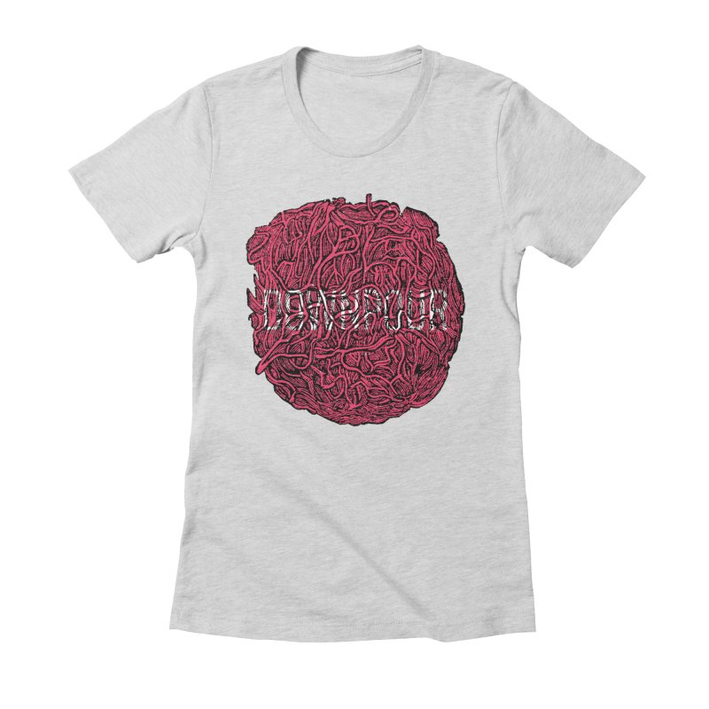 Innards Women's Fitted T-Shirt by DOWNPOUR