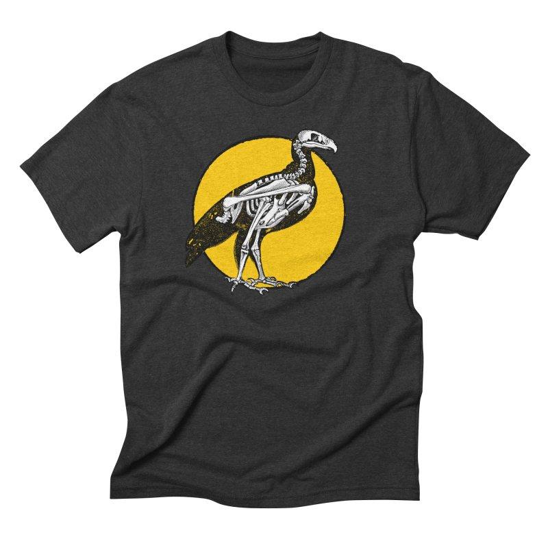 Bird Bones Men's Triblend T-Shirt by DOWNPOUR