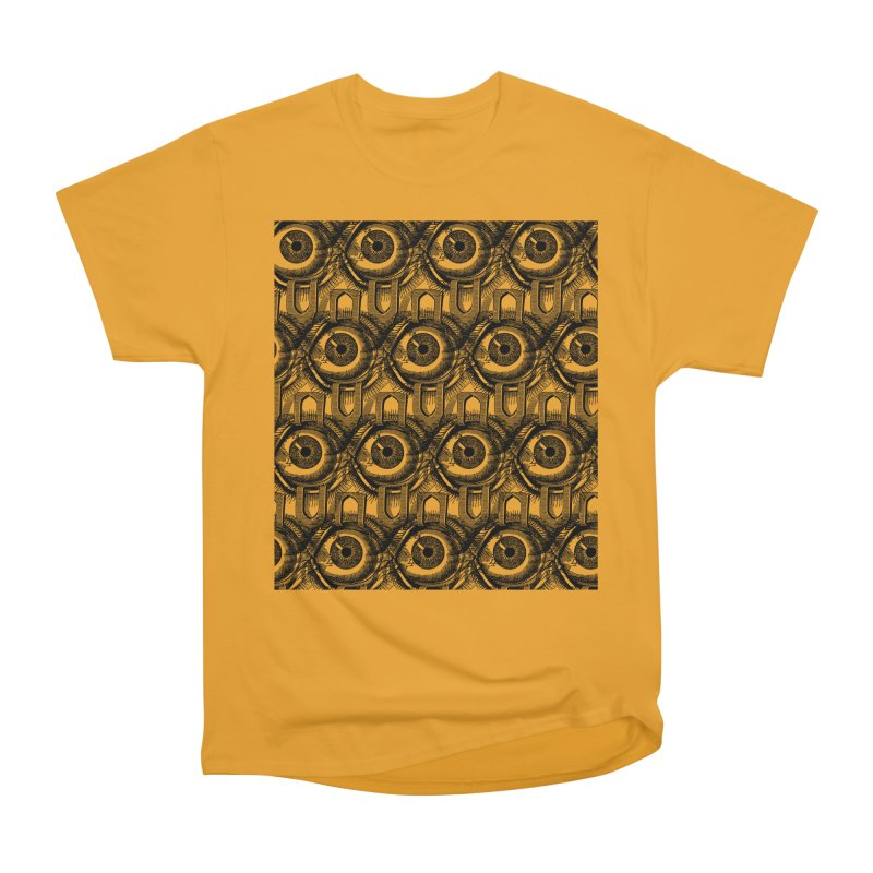 Eyes Men's Heavyweight T-Shirt by DOWNPOUR
