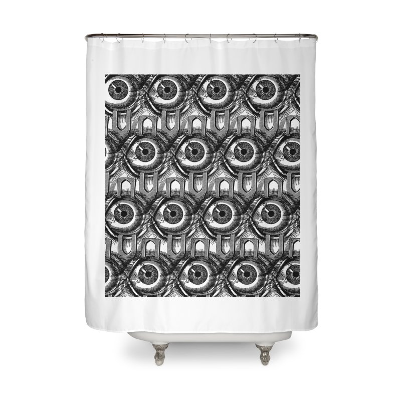Eyes Home Shower Curtain by DOWNPOUR