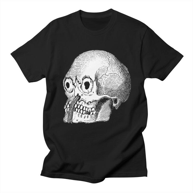 Skull Guy Men's T-Shirt by DOWNPOUR
